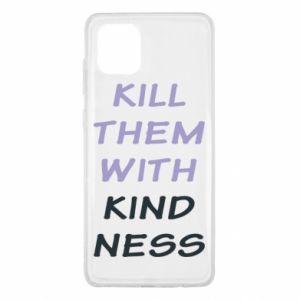 Etui na Samsung Note 10 Lite Kill them with kindness