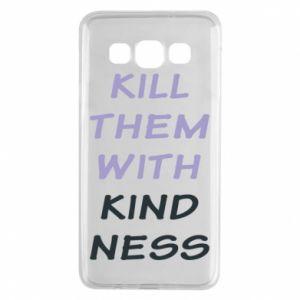 Etui na Samsung A3 2015 Kill them with kindness