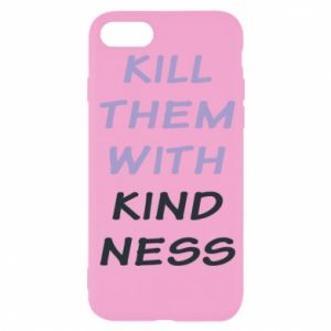 Etui na iPhone SE 2020 Kill them with kindness