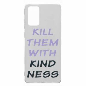 Etui na Samsung Note 20 Kill them with kindness