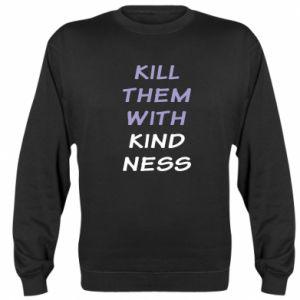 Bluza (raglan) Kill them with kindness