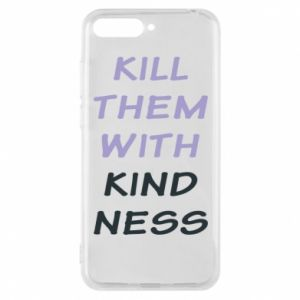 Etui na Huawei Y6 2018 Kill them with kindness