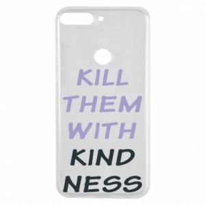 Etui na Huawei Y7 Prime 2018 Kill them with kindness
