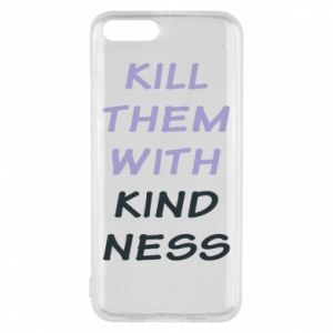 Etui na Xiaomi Mi6 Kill them with kindness
