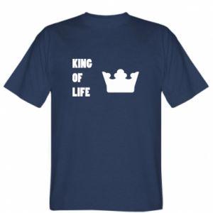 Koszulka męska King of life
