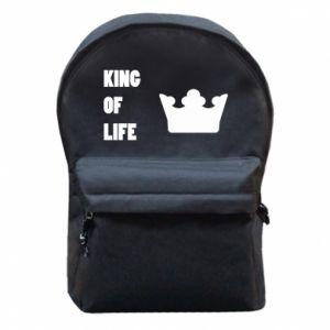 Plecak z przednią kieszenią King of life