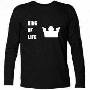 Koszulka z długim rękawem King of life