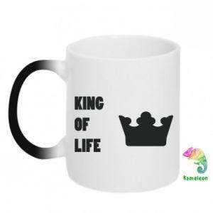 Kubek-kameleon King of life