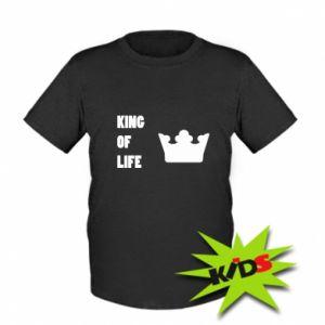 Koszulka dziecięca King of life
