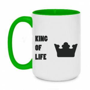 Kubek dwukolorowy 450ml King of life