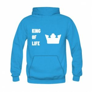 Bluza z kapturem dziecięca King of life