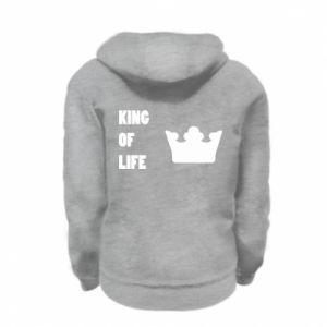Bluza na zamek dziecięca King of life