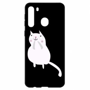 Etui na Samsung A21 Kitten underling