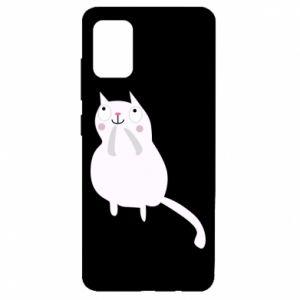 Etui na Samsung A51 Kitten underling
