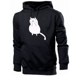 Men's hoodie Kitten underling - PrintSalon