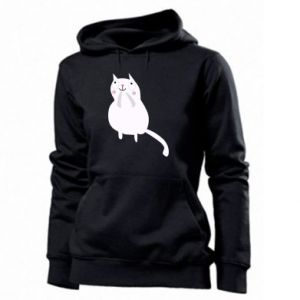 Women's hoodies Kitten underling - PrintSalon