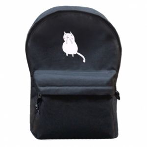 Backpack with front pocket Kitten underling - PrintSalon