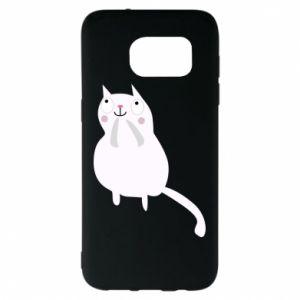 Etui na Samsung S7 EDGE Kitten underling