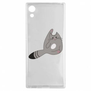 Etui na Sony Xperia XA1 Kitty in a funny pose