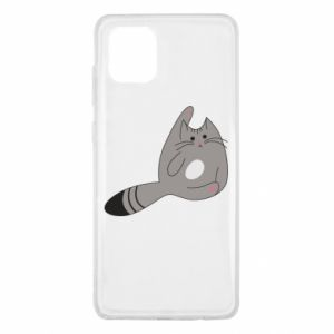 Etui na Samsung Note 10 Lite Kitty in a funny pose