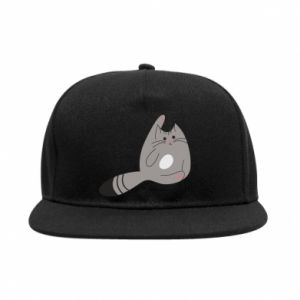 Snapback Kitty in a funny pose