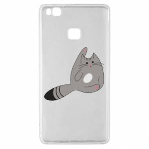 Etui na Huawei P9 Lite Kitty in a funny pose
