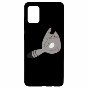 Etui na Samsung A51 Kitty in a funny pose