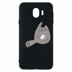 Etui na Samsung J4 Kitty in a funny pose