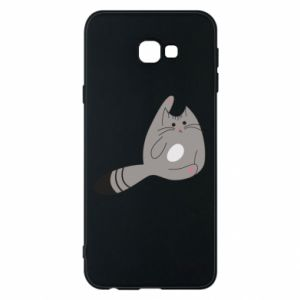Etui na Samsung J4 Plus 2018 Kitty in a funny pose