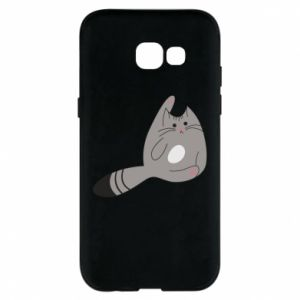 Etui na Samsung A5 2017 Kitty in a funny pose