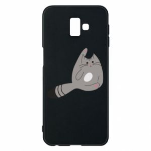 Etui na Samsung J6 Plus 2018 Kitty in a funny pose