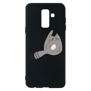Etui na Samsung A6+ 2018 Kitty in a funny pose