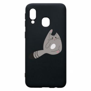 Etui na Samsung A40 Kitty in a funny pose