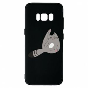 Etui na Samsung S8 Kitty in a funny pose
