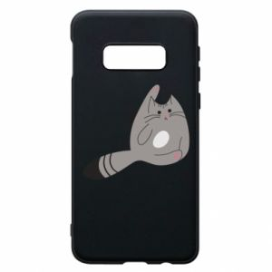 Etui na Samsung S10e Kitty in a funny pose