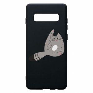 Etui na Samsung S10+ Kitty in a funny pose