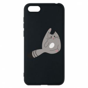 Etui na Huawei Y5 2018 Kitty in a funny pose