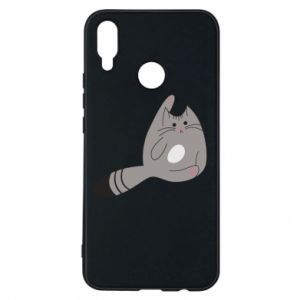 Etui na Huawei P Smart Plus Kitty in a funny pose