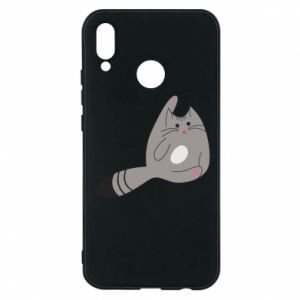 Etui na Huawei P20 Lite Kitty in a funny pose