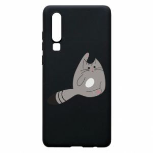 Etui na Huawei P30 Kitty in a funny pose