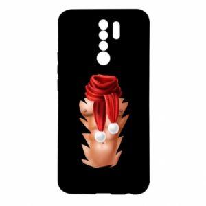 Etui na Xiaomi Redmi 9 Klata mikołaja