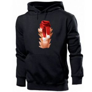 Men's hoodie Santa's Chest