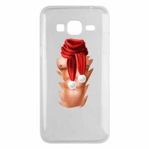 Phone case for Samsung J3 2016 Santa's Chest