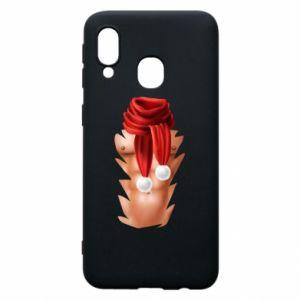 Phone case for Samsung A40 Santa's Chest