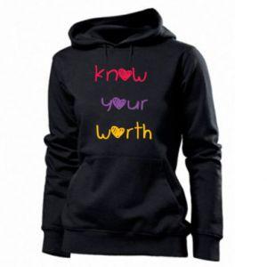 Damska bluza Know your worth