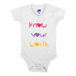 Body dla dzieci Know your worth