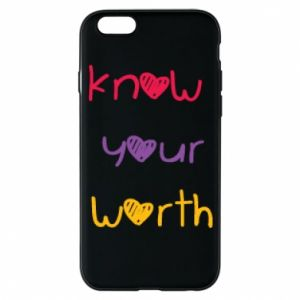 Etui na iPhone 6/6S Know your worth