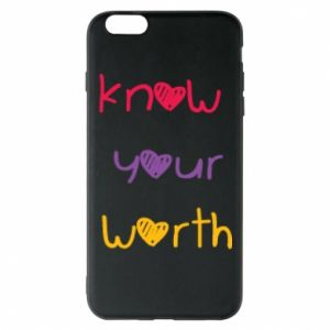 Etui na iPhone 6 Plus/6S Plus Know your worth