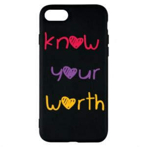 Etui na iPhone 8 Know your worth