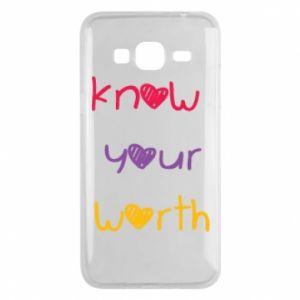 Etui na Samsung J3 2016 Know your worth